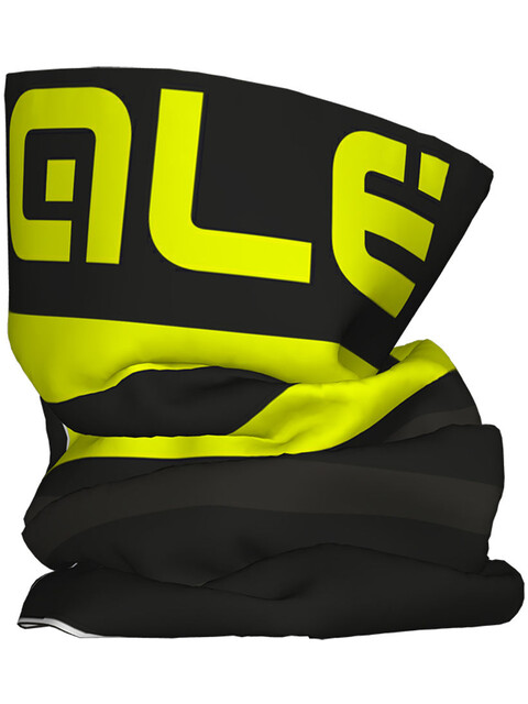 Alé Cycling Piuma Headgear Black Fluo Yellow